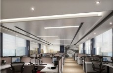 3d公司办公区模型