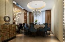 豪华餐厅包间模型