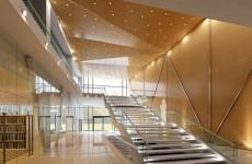 室内玻璃建筑模型