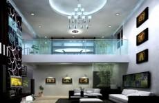 3d客厅模型设计