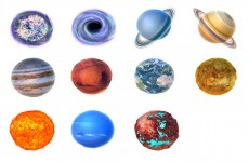 太阳系行星图标