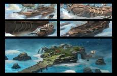 Kalen Chock概念设计CG原画