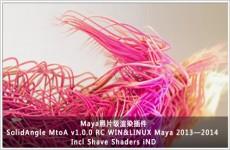 Maya照片级渲染插件SolidAngle Maya To Arnold v1.0.0 RC WIN Maya 2013-2014