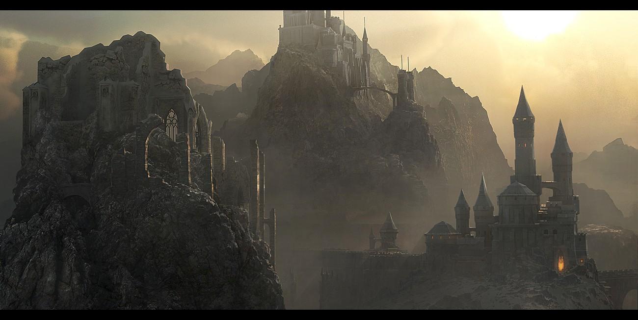 魔幻风格 重金属感的场景设计素材