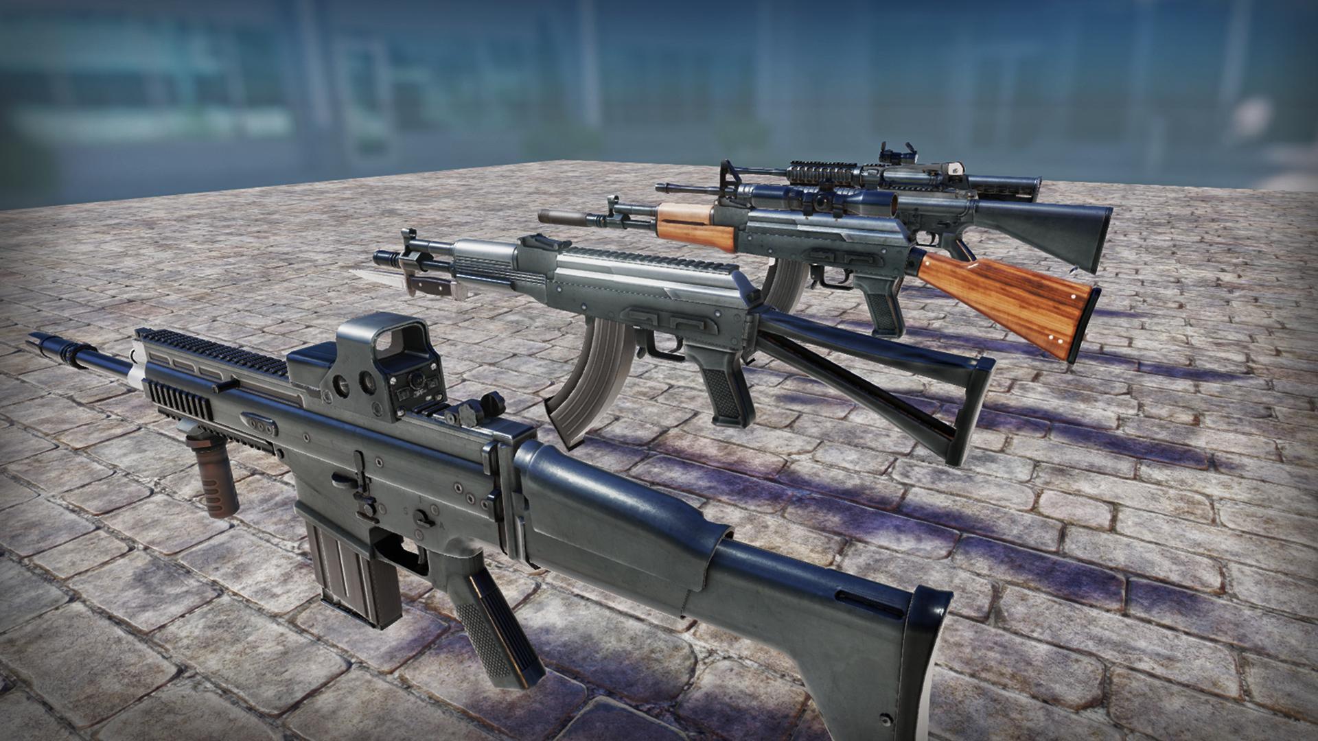 UE4资源   机枪资源包