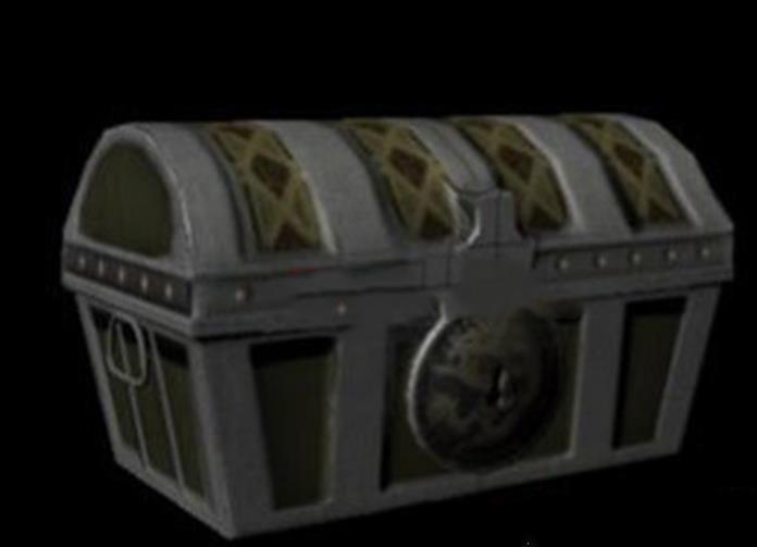 Maya道具模型:藏宝箱