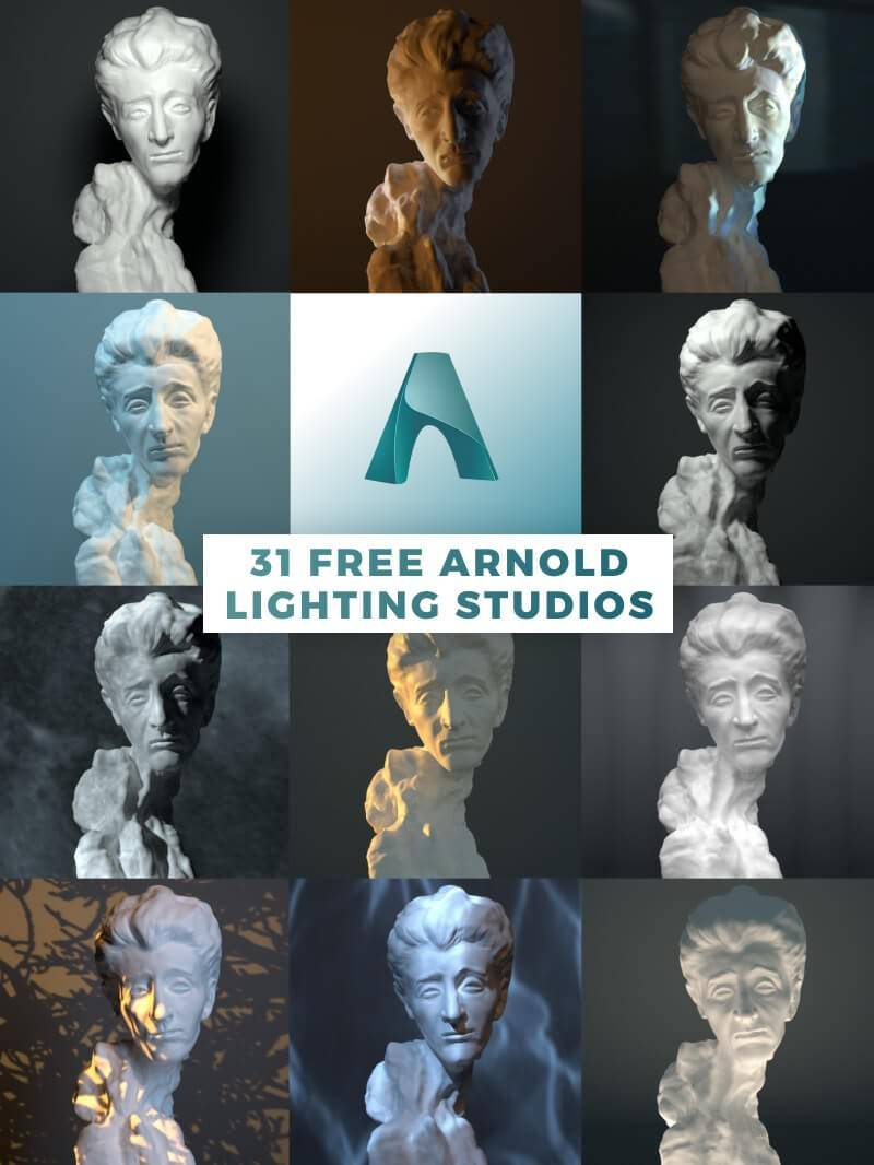 Arnold for C4D照明预设