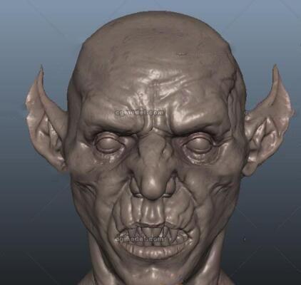 怪物头像模型下载