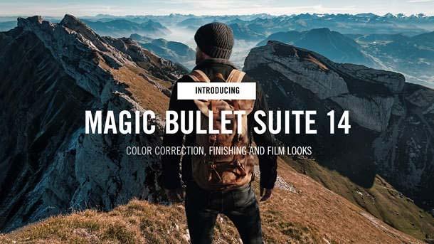 红巨人降噪磨皮调色特效插件 Red Giant Magic Bullet Suite v14.0.1
