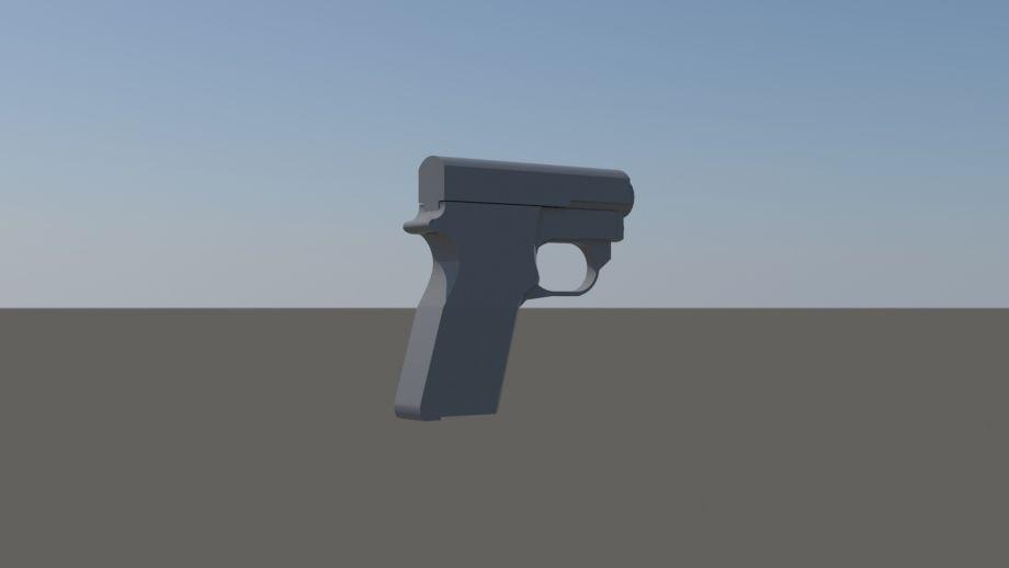 ZBrush手枪模型制作教程