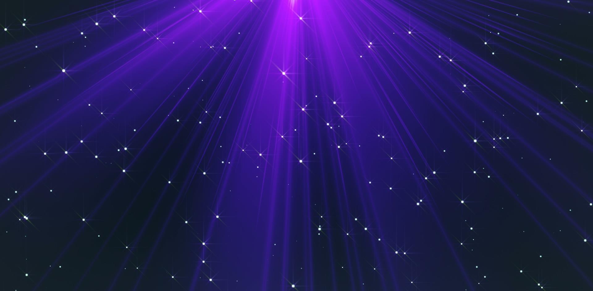 紫罗兰色光芒舞台LED视频素材