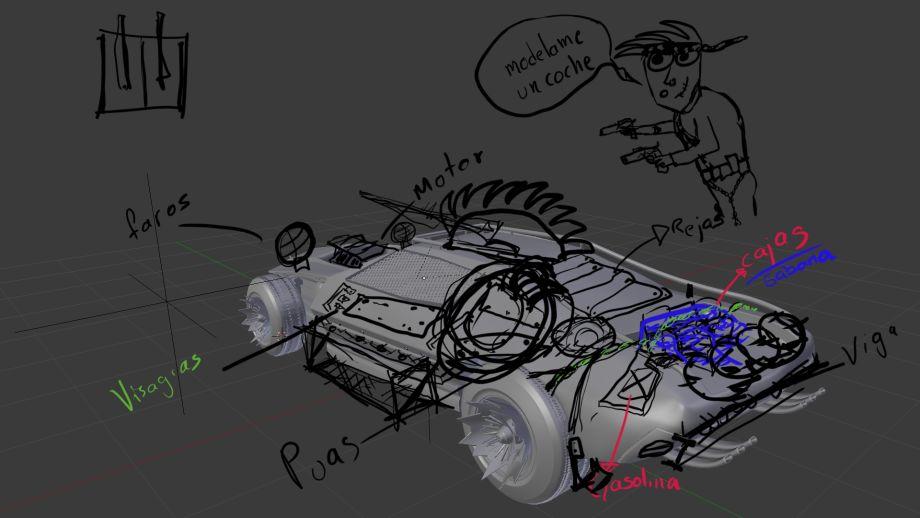 使用Blender制作汽车模型