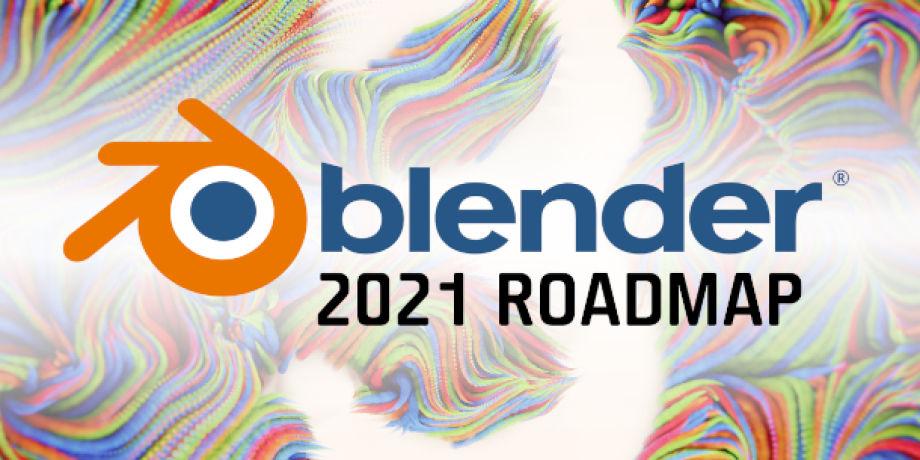 Blender团队发布今年的更新计划  Blender 2.93版本预计5月发布