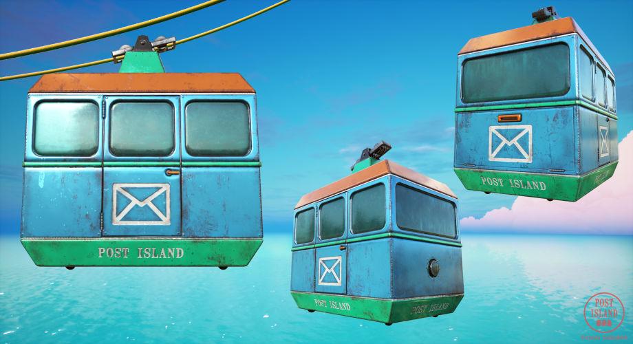 UE4场景制作过程:邮局岛