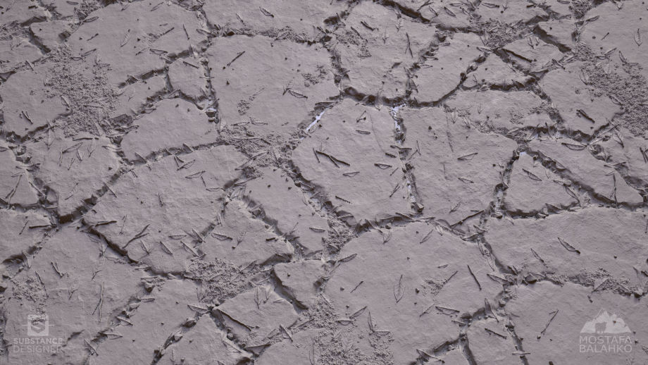 Substance Designer石头材料制作教程