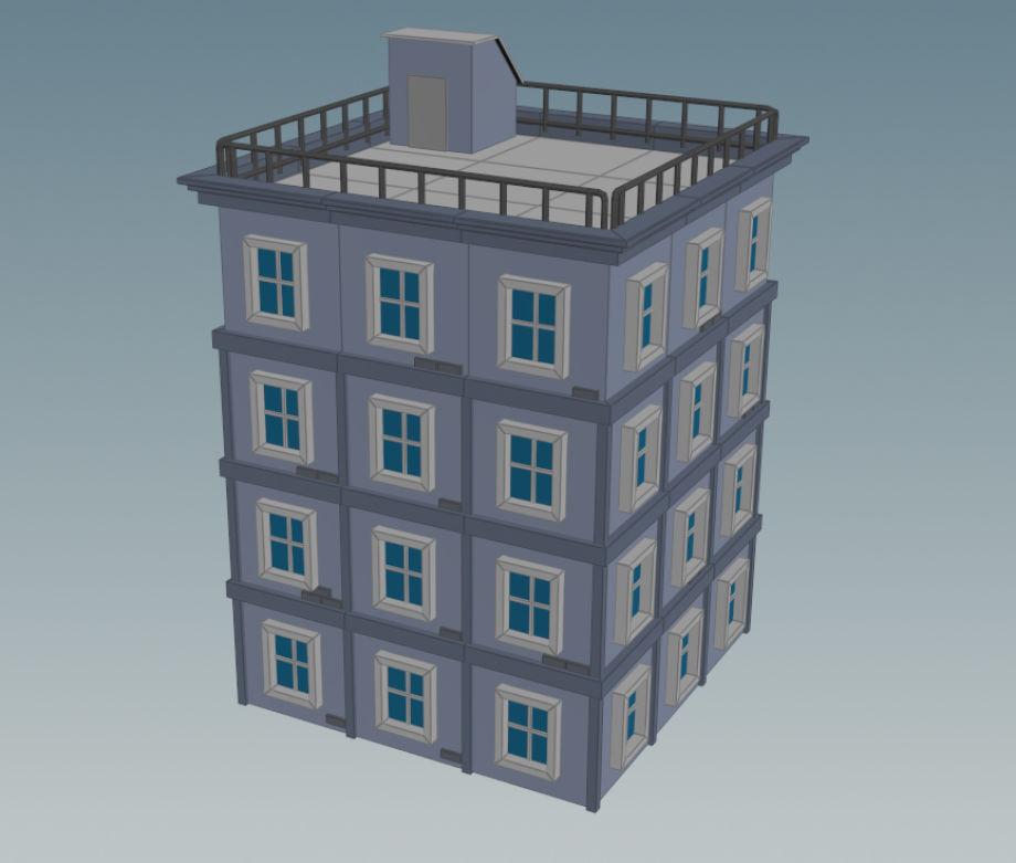 在Houdini中制作建筑模型