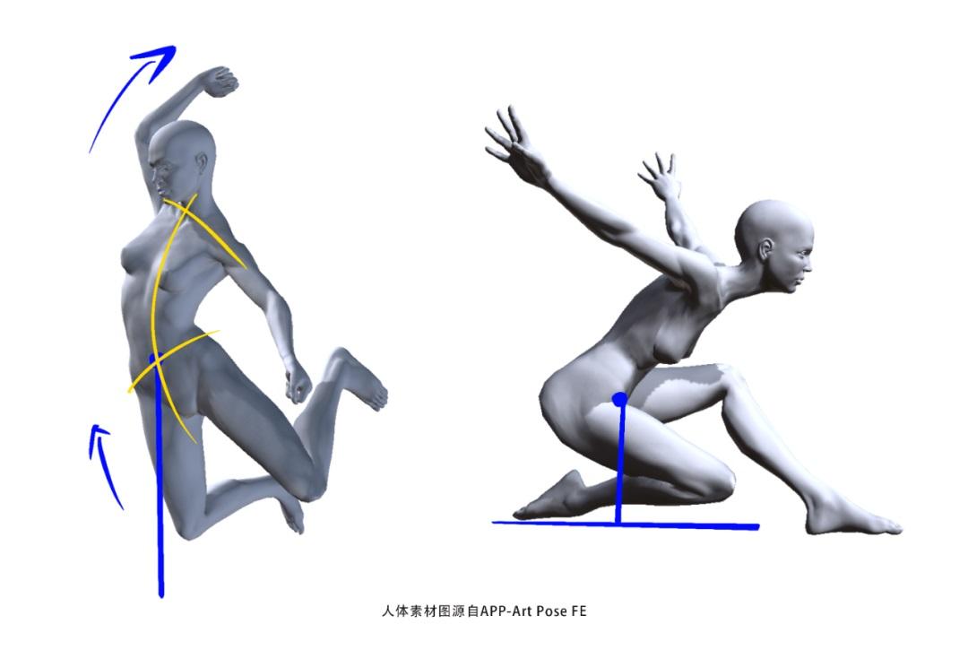 动感十足的人物插画,应该如何设计