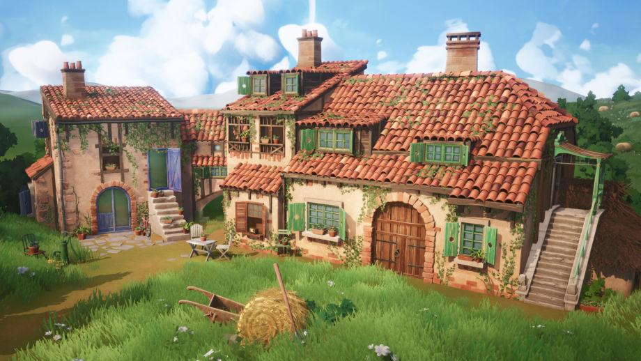 在Maya和UE4中制作乡村场景