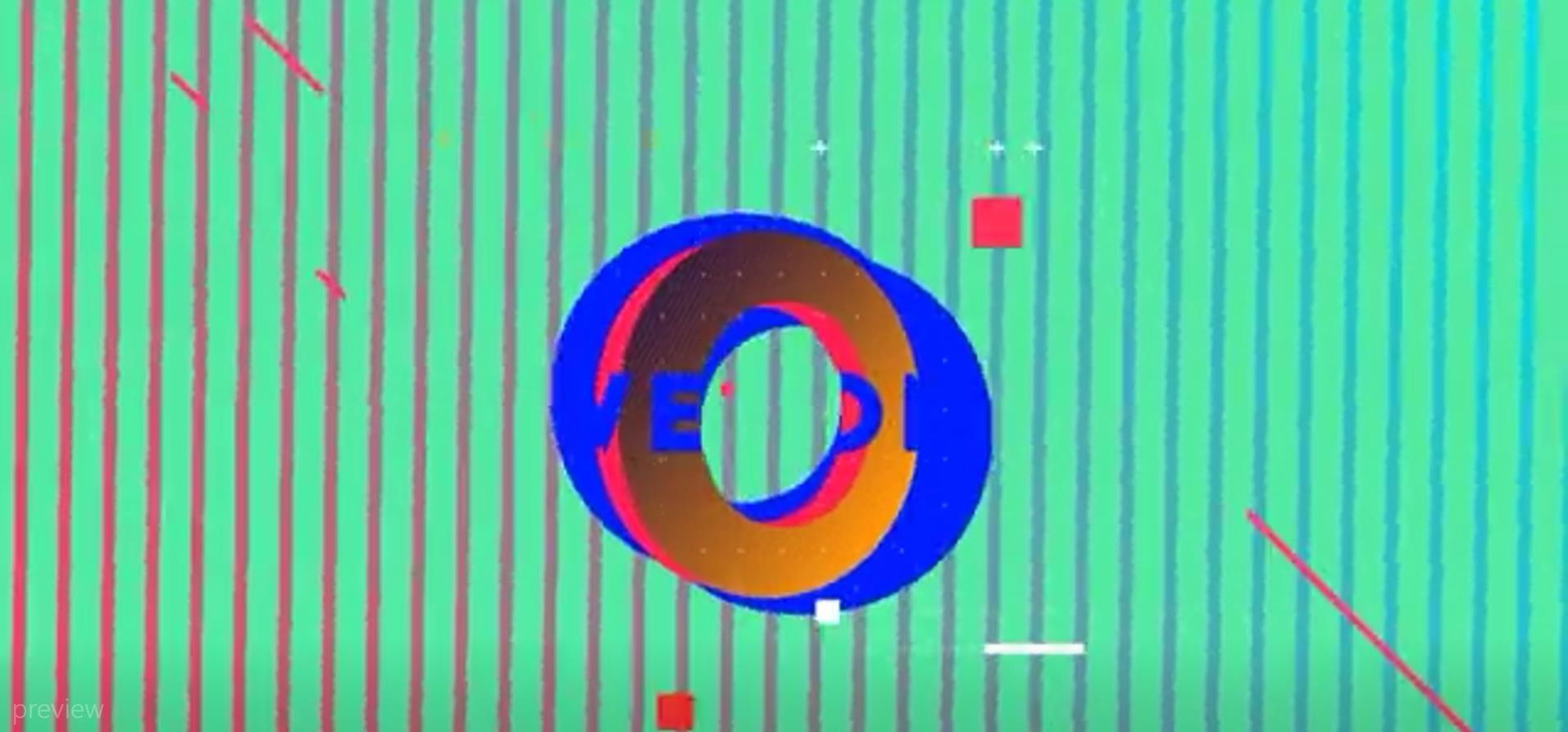 AE模板:形状动画排版展示