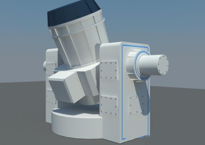 战舰接收器模型