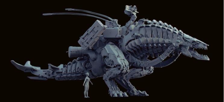优秀的3D硬表面作品,需要具备什么因素