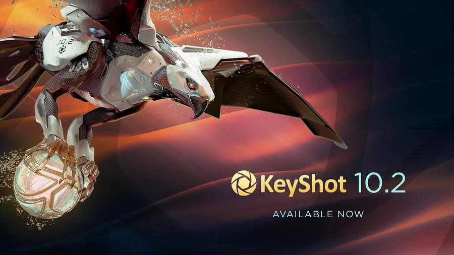 KEYSHOT 10.2版本现已发布,带来哪些新功能
