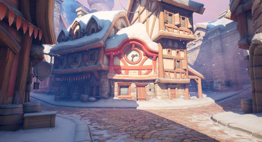 UE4如何制作雪域小镇场景