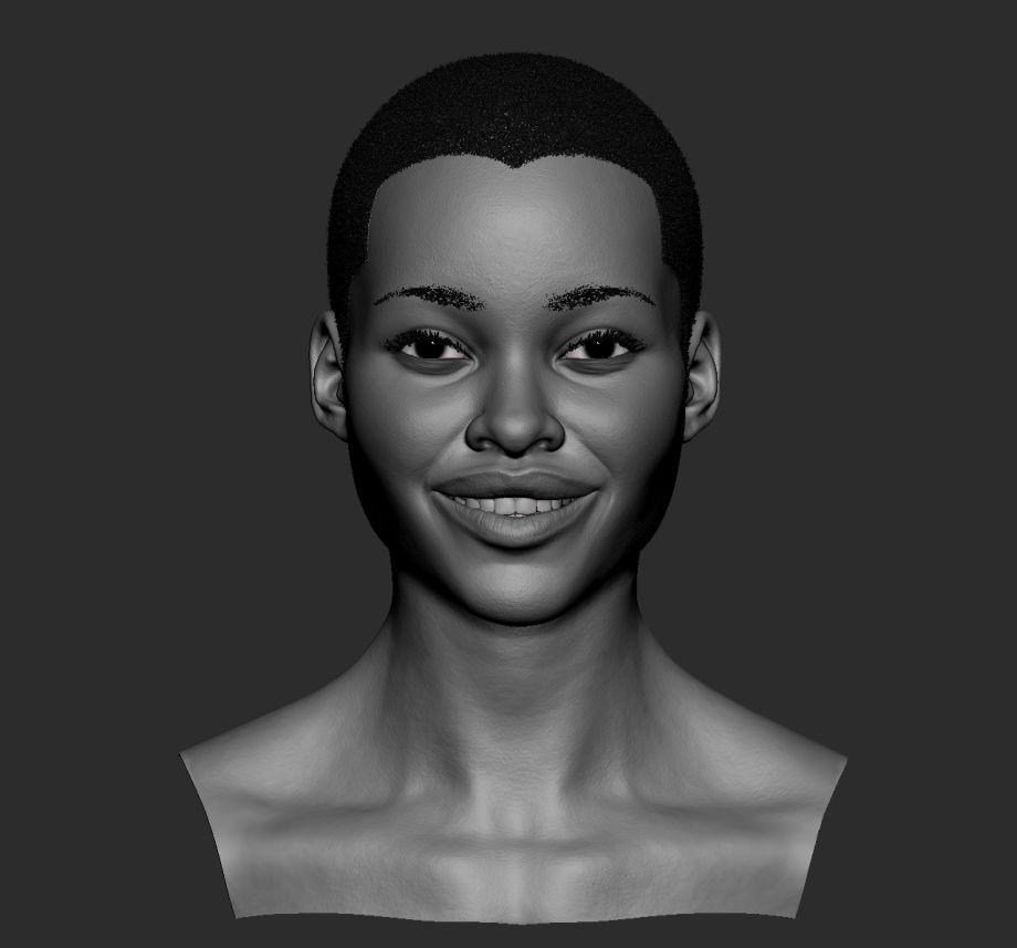 ZBrush制作逼真的人物肖像