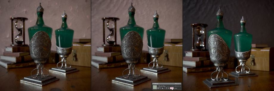 在ZBrush中制作药水瓶模型