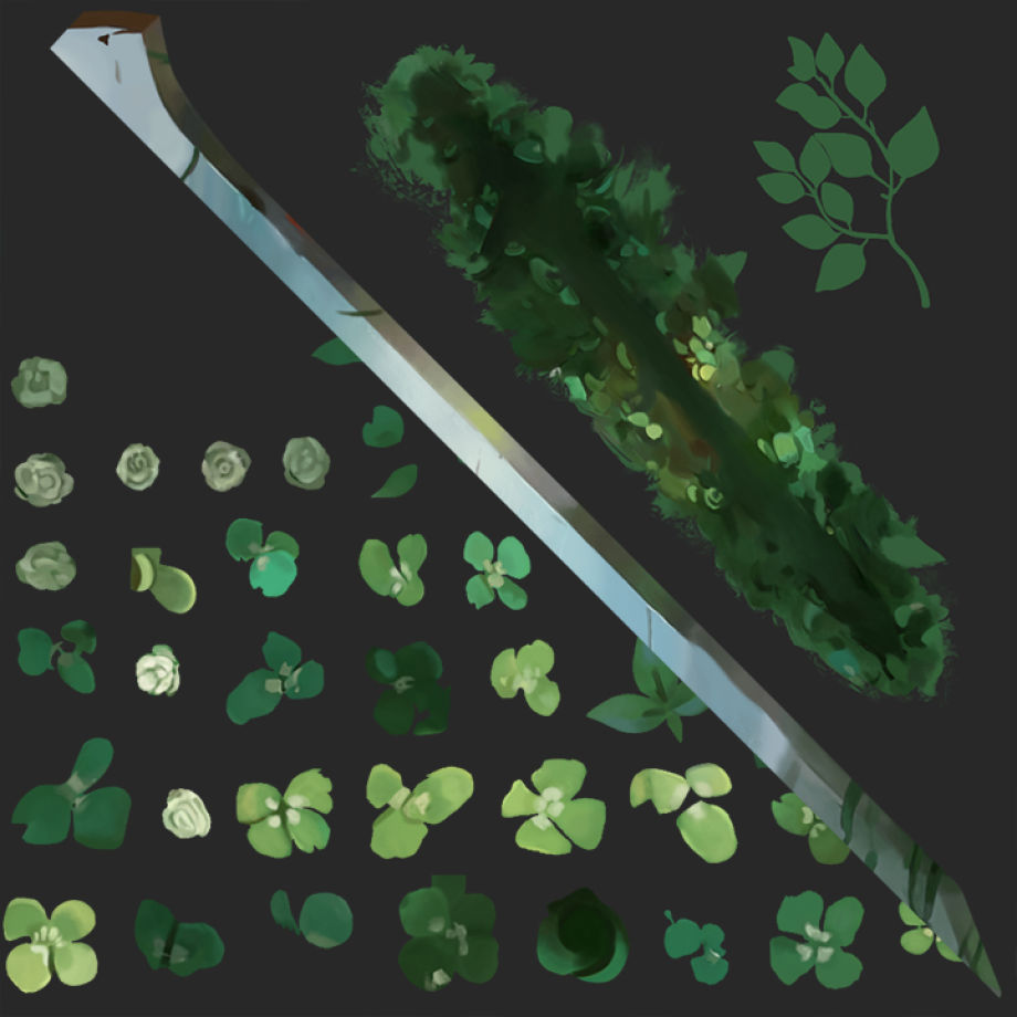 Blender制作风格化的剑