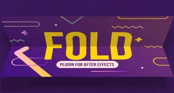 创建纸张折叠效果的AE插件:Fold