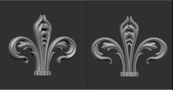 Zbrush如何将图片转浮雕模型
