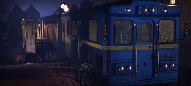 使用3dsmax与UE4制作世界末日地铁场景