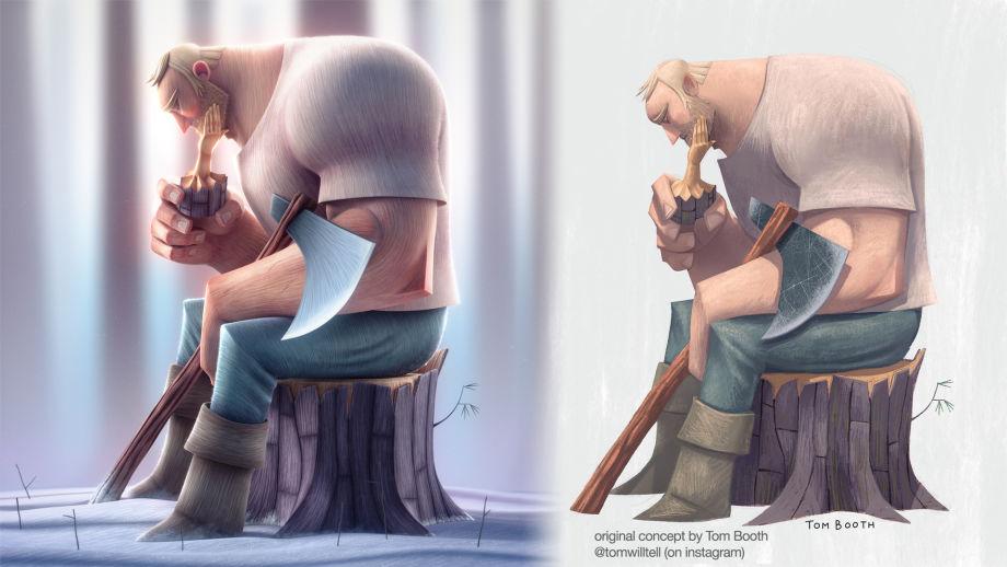 在ZBrush中制作3D角色  3D角色雕刻流程