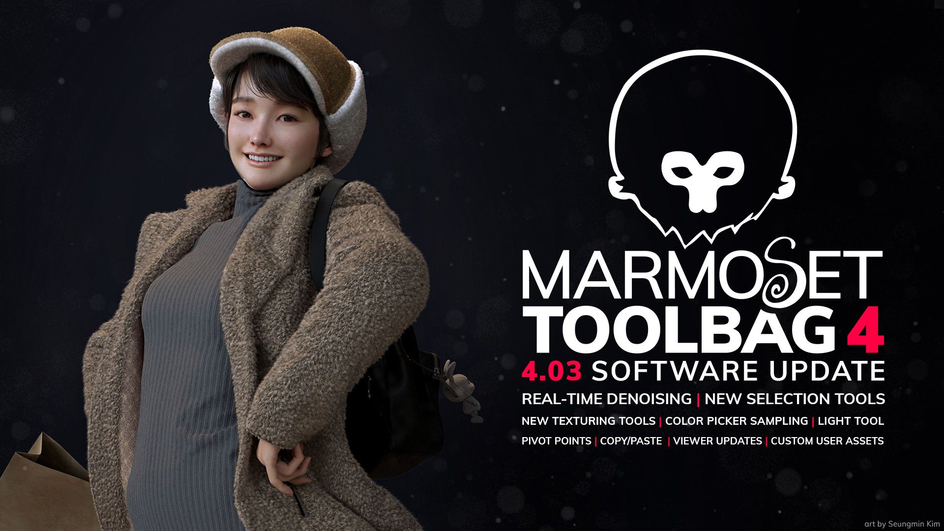 Marmoset Toolbag 4.03版本发布 新版本功能介绍