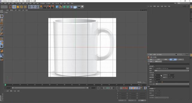 C4D如何制作杯子模型