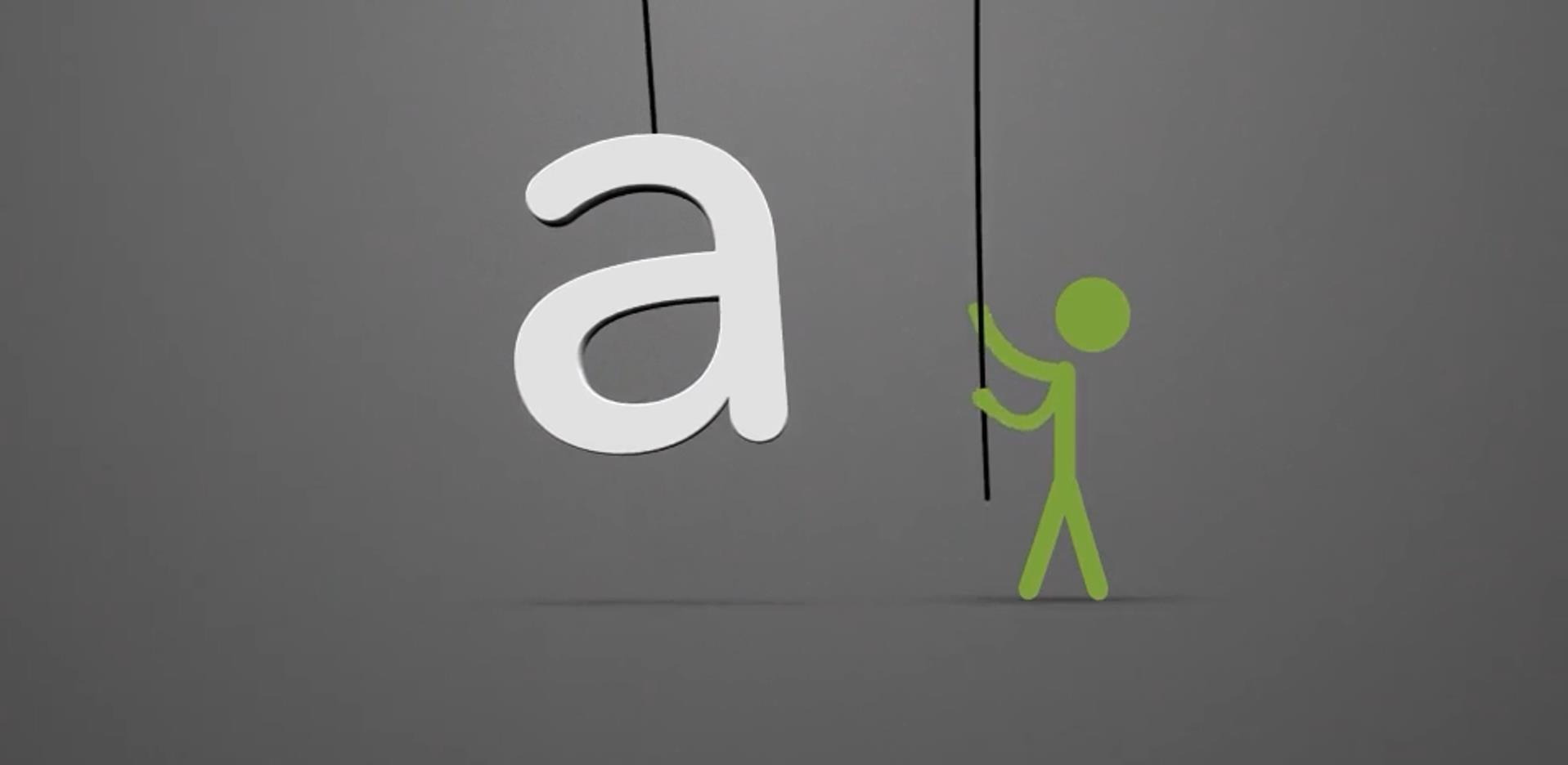 创意火柴人logo动画AE模板
