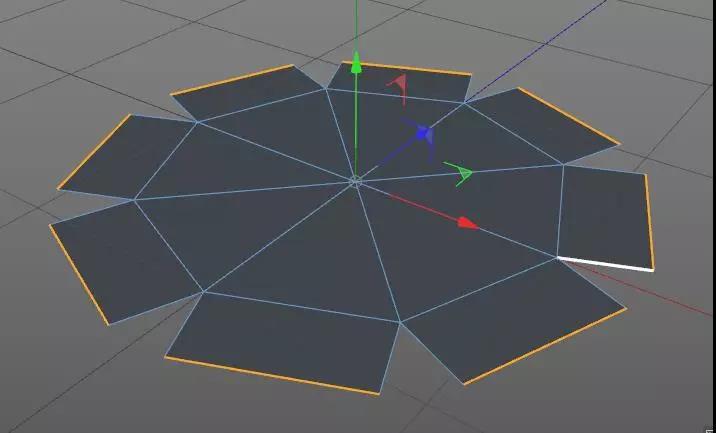 C4D如何制作钻石模型