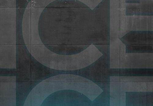 PS制作冰点字体海报