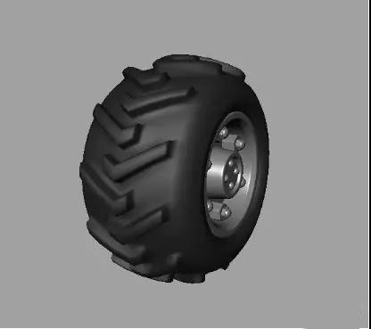 使用Maya制作汽车轮胎模型