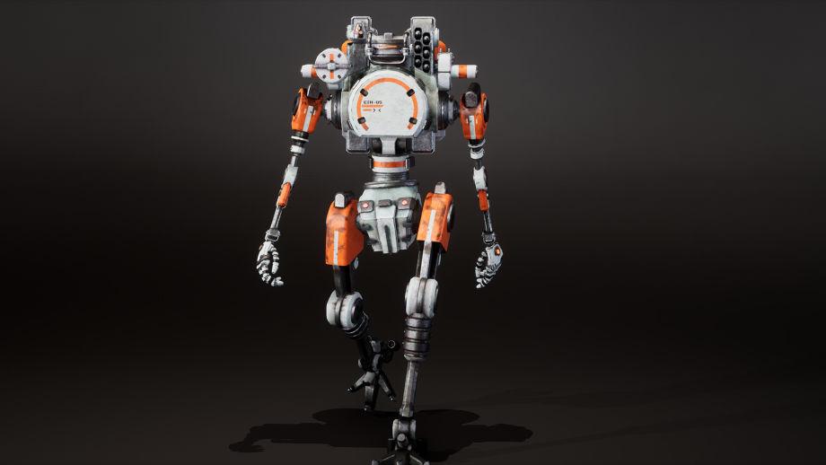 在Maya中制作动画机器人