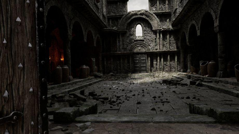 3dmax教堂场景如何制作