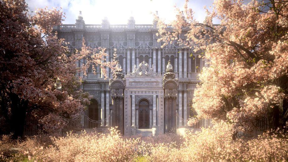使用C4D与ZBrush制作宫殿场景