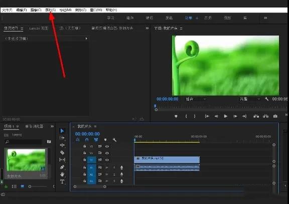 PR如何调整视频尺寸大小