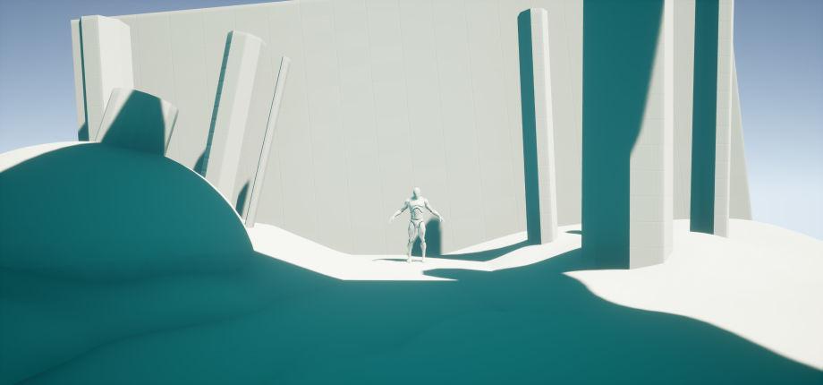 使用3dmax与UE4制作神殿场景