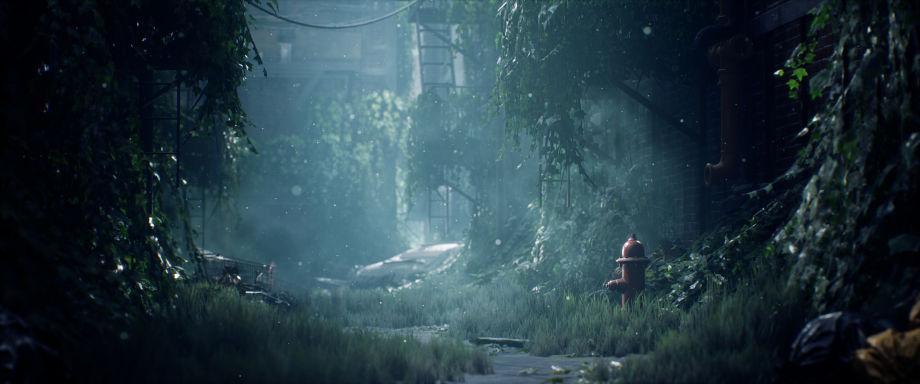 使用 Maya和UE4制作黑暗小巷场景