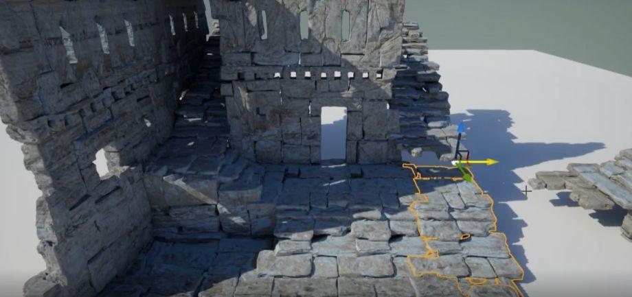 在UE5中制作古城场景