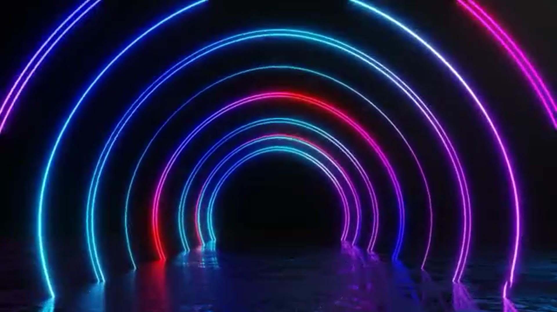 穿越霓虹隧道后出现的logo特效<a href='/zyxz/hqsc/191' target='_blank' style='color: #0070C0;text-decoration: underline;'>AE模板</a>