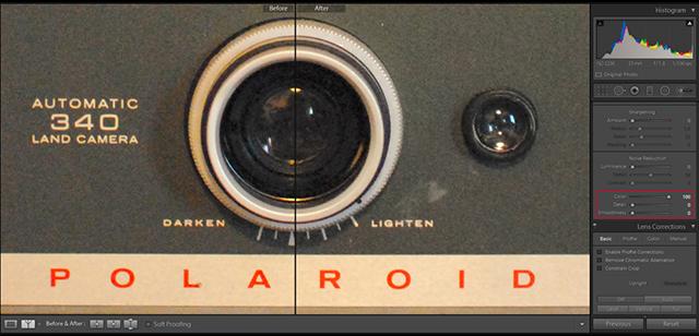 lightroom降噪 lightroom噪点解析及处理