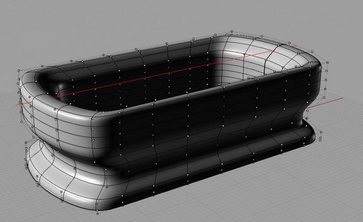 rhino实例教程:rhino浴缸建模教程